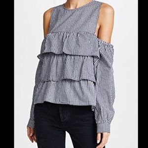 NEW NWT Likely Tatum Top Blouse Size Large